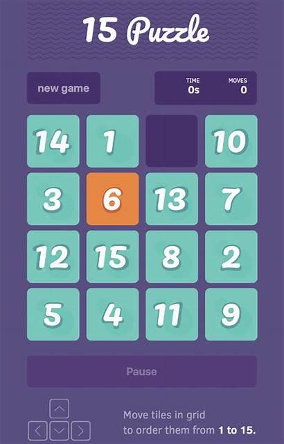 Puzzle React Js Classic Using App Tile