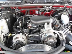 2003 S10 Engine Compartment