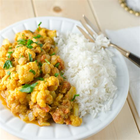cuisine curry indian chickpea and cauliflower curry recipe kristen