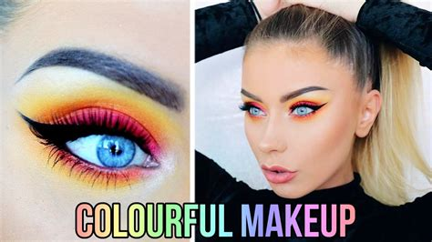 colorful makeup colorful makeup tutorial