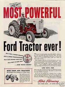 Ford Tractor  1955