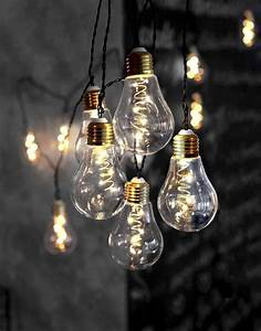 Lichtschläuche Lichterketten : led lichterkette 10 gl hbirnen 5 leds glas innendeko 3 6m 5m zul in m bel wohnen ~ Eleganceandgraceweddings.com Haus und Dekorationen