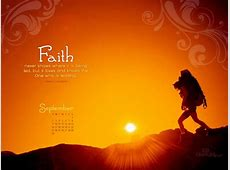 Sept 2012 Faith Desktop Calendar Free September Wallpaper