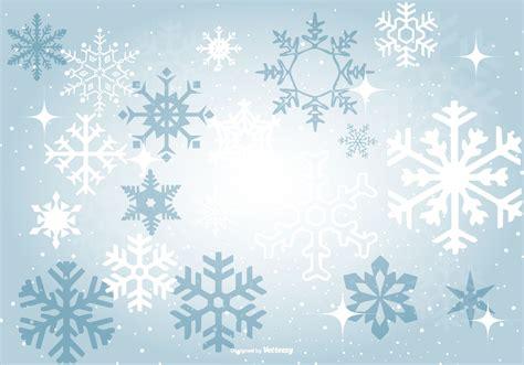 Blue Snowflake Background beautiful blue snowflake background free