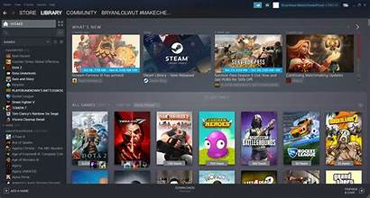 Steam Library Redesign Layout Custom Goes Categories