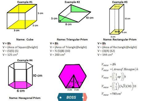 Volume Formulas Example  Engineering World