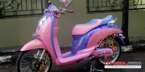 Motor Scoopy Ungu by Scoopy Curi Perhatian Dengan Warna Feminis Mobil Motor Mania