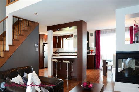 cuisine aire ouverte avant après une aire ouverte transformée martine bourdon décoratrice d 39 intérieur