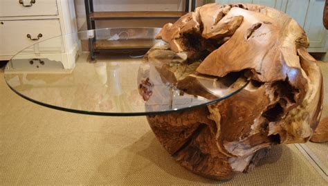 Tree Root Coffee Table ? TEAK FURNITURESTEAK FURNITURES