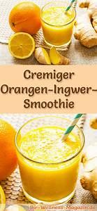 Detox Smoothie Rezepte Zum Abnehmen : orangen ingwer smoothie gesundes rezept zum abnehmen ~ Frokenaadalensverden.com Haus und Dekorationen