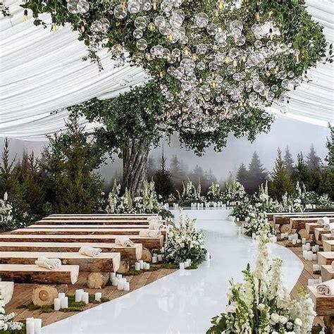 62 extravagant white indoor wedding ceremony 44 in 2020