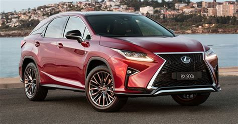 Turbocharged Lexus Rx Models Receive New Sports Variants