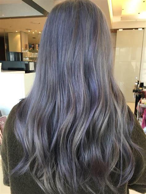 fallwinter  hair color trend kpop korean