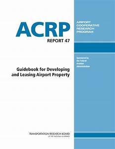Trb Releases Guidebook On Airport Leasing
