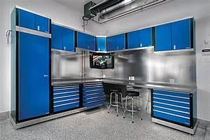 Meuble De Garage : armoires de garage dressing idees ~ Melissatoandfro.com Idées de Décoration
