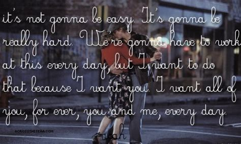 I Want You Notebook Quote