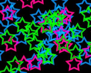 ☆Neon Starz☆ 3D and CG & Abstract Background Wallpapers