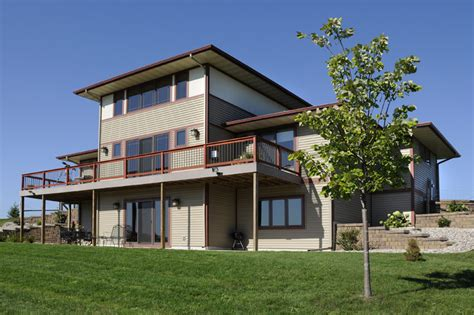 farmhouse style homes contemporary prairie style home prairie style home designer builder wisconsin
