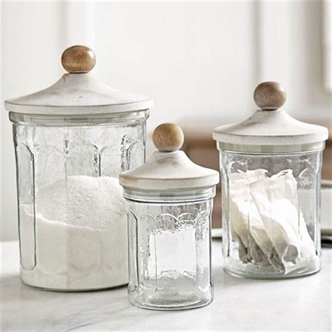glass kitchen canister set fluted glass kitchen canister set