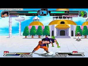 Dragon Ball Heroes mugen Gameplay: Piccolo vs Gohan + Goku ...