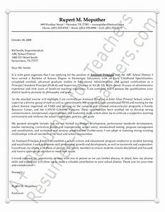 assistant principal cover letter sample With cover letter for vice principal position