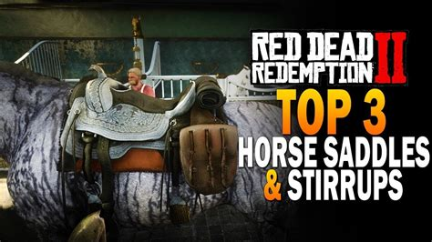 rdr2 saddles dead redemption horse stirrups