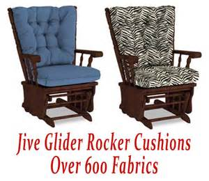 glider rocker cushions for jive chair