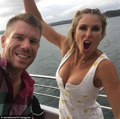 Boat Around Sydney by David Candice Warner Party On Yacht Around Sydney Harbour