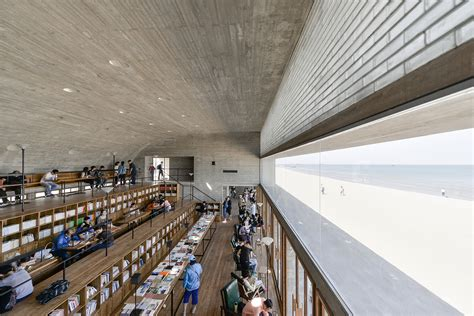 Seashore Library  Vector Architects Archdaily
