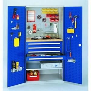 Armoire D Atelier : armoire d 39 atelier a tiroirs avec portes perforees rasterplan ~ Teatrodelosmanantiales.com Idées de Décoration
