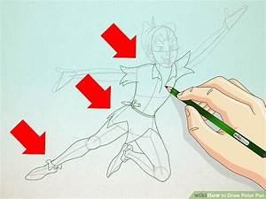 How to Draw Peter Pan: 7 Steps (with Pictures) - wikiHow