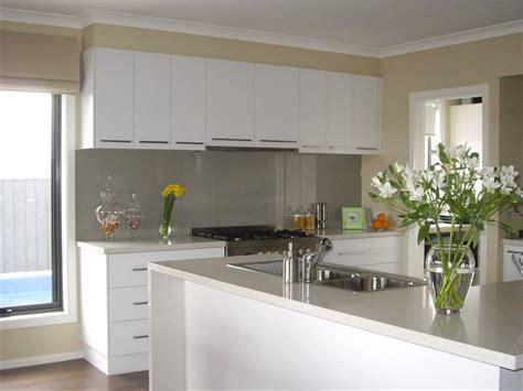modern white kitchen design l shaped white gloss plywood
