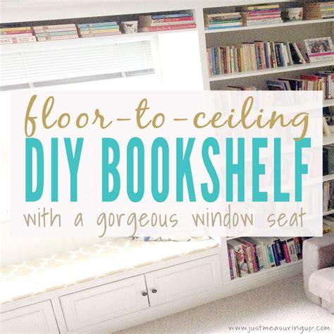 built  bookshelves   window seat   build