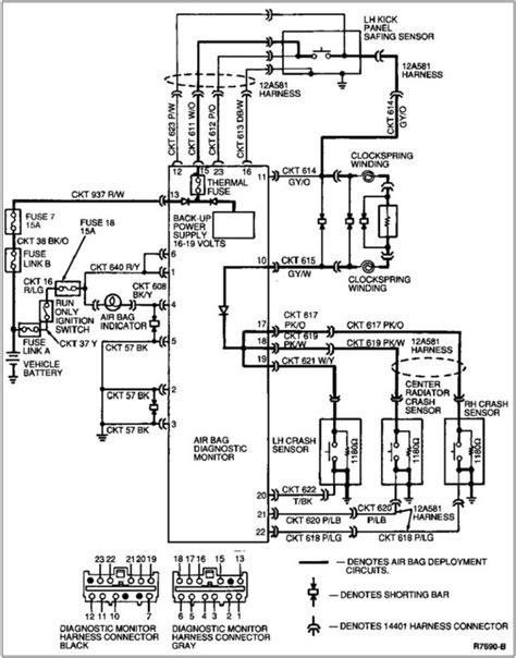 Air Bag Wiring Diagram by Disabling The Air Bag Module Audible Tone Mustang