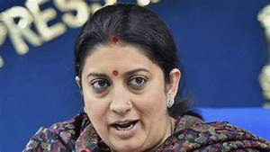 Smriti Irani wants to know what you watch on TV: Congress ...