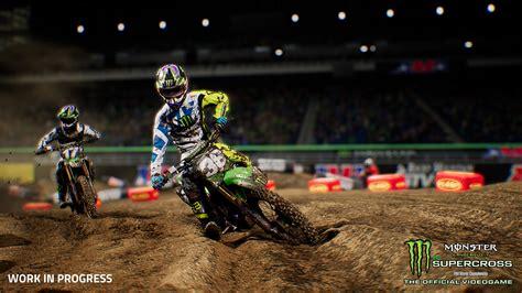 monster energy motocross monster energy supercross ps4 zavvi