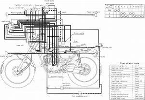 Yamaha 360 Enduro Wiring Schematics    Diagram  Dt1e   St2