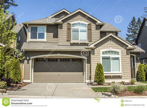 design a shower suburban house royalty free stock photos image 31081678