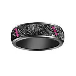 black and pink engagement rings black and pink engagement ring hd black band pink rings jewelry design ideas