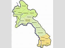 Laos map Country map of Laos