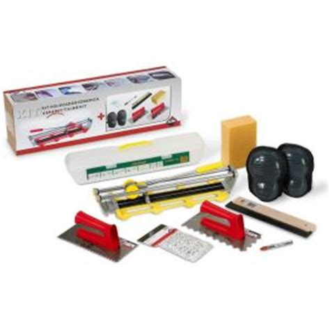 rubi ceramic tiling kit and tile installation accessories