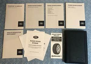 2014 Range Rover Evoque Owners Manual W Nav Books Oem Pure