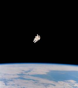 Floating Astronaut by Nasa