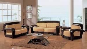 wooden sofa sets for living room With wooden sofa set designs for small living room
