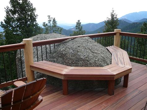 custom wood decks designs colorado springs