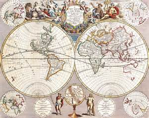 antique maps   worldmap   worldjohn seneyc