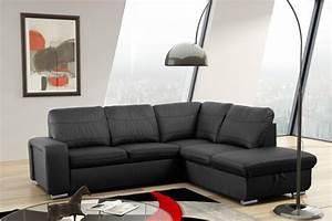 Couch Mit Schlaffunktion Günstig : schlafsofa sofa couch ecksofa eckcouch in schwarz mit schlaffunktion wilna kaufen bei ~ Eleganceandgraceweddings.com Haus und Dekorationen