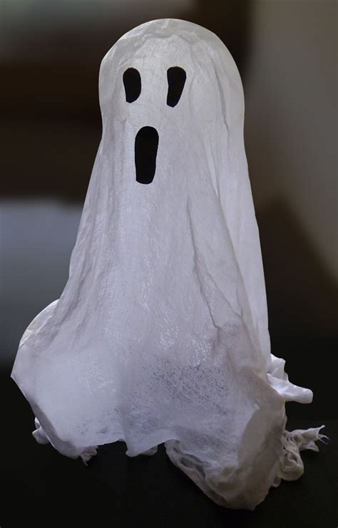 cheesecloth ghost kids halloween craft ideas jumpstart