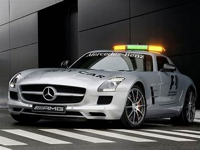 Mercedes F1 Benz Amg Sls Safety Desktop