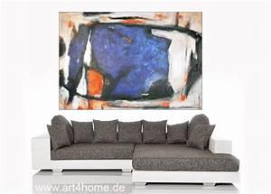 Abstrakte Kunst Kaufen : blaue vision acrylmischtechnik leinwand mit spachtelstrukturen auf leinwand 150 100 cm ~ Watch28wear.com Haus und Dekorationen